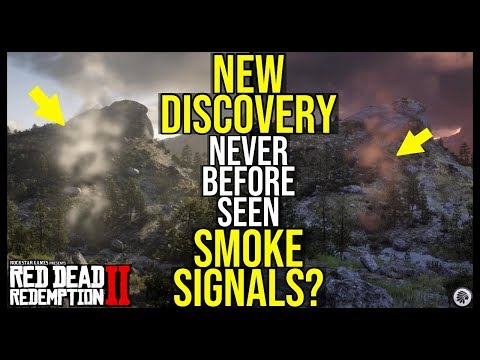 Red Dead Redemption 2 SMOKE SIGNALS? (New Discovery) thumbnail