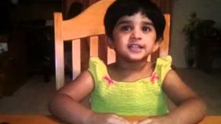 "Neha Joshi singing "" Bade acche lagte hain"" song from movie "" Balika vadhu""."