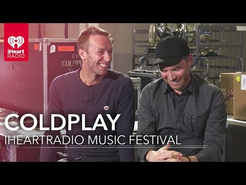 Coldplay Gears Up for iHeartRadio Music Festival  Exclusive