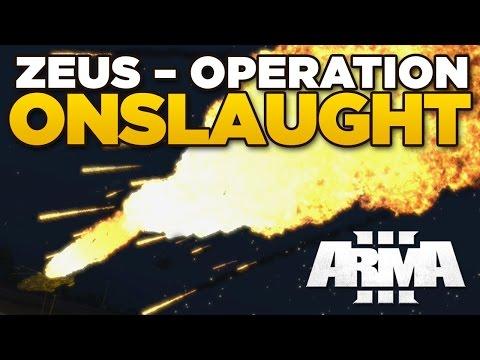 ZEUS - OP ONSLAUGHT | ARMA 3 [ARES, JSRS3 Dragonfyre, Blastcore Phoenix]