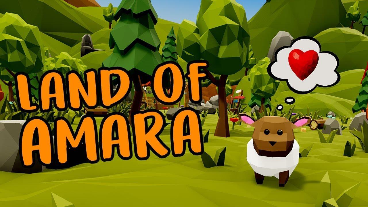 Land of Amara Is A Stardew Valley-Inspired VR Farming Sim