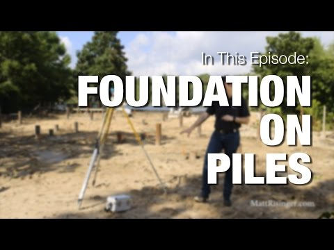 Foundation on Piles - YouTube