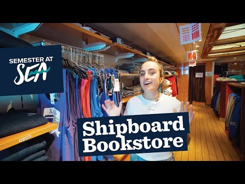 Semester at Sea visit the Bookstore