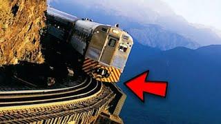ಜಗತ್ತಿನಲ್ಲಿನ 7 ಭಯಾನಕ ಹಾಗೂ ವಿಚಿತ್ರ Railway Tracks | Famous Railway Tracks in the world