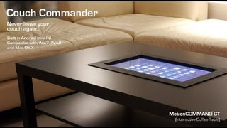 Motioncommand Ct (interactive Coffee Table)