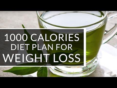 Menu 1000 calories day