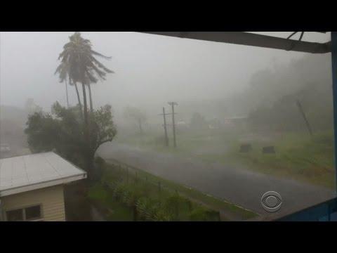 Massive storm hits Fiji