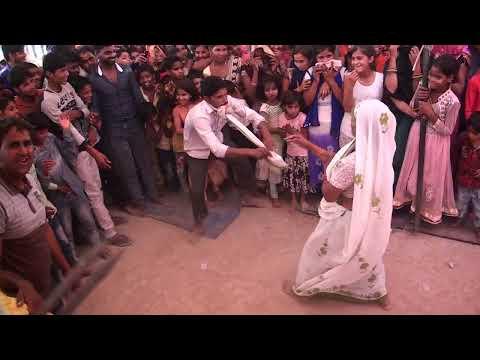 देखिये नागिन डांस में दादी नाती के झटके 20 साल का नाती 65 साल की दादी अरविंद शास्त्री