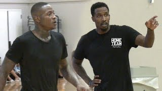Terry Rozier & Brandon Jennings Go At It at Rico Hines UCLA Runs