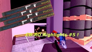 CB:RO Highlights #5 - Counter Blox : Roblox Offensive