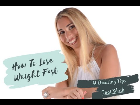 How To Lose Weight Fast [At Home]