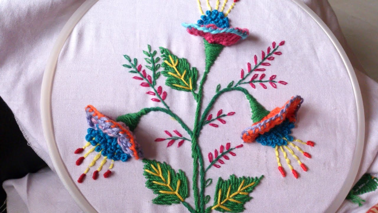 Free Flower Hand Embroidery Designs