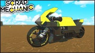 Scrap Mechanic | Motocicleta de vis! | Episodul 563