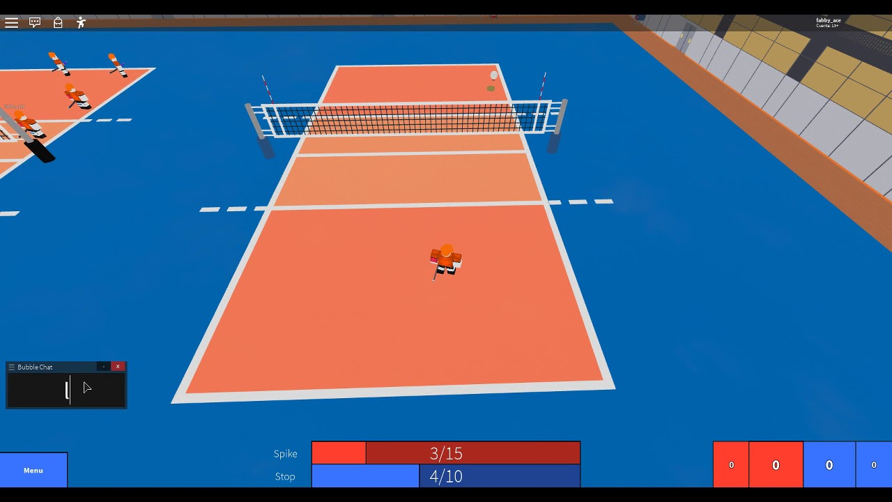 How To Serve In Volleyball 4 2 Roblox Youtube