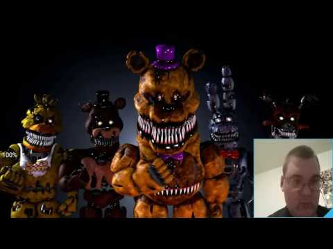 "There Is A Legend!!! || [ Fnaf 4 Sfm ] ""Five Nights At Freddy's 4"" Song Animation Reaction!!!"