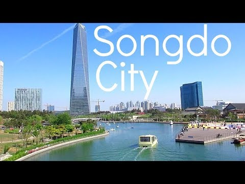 Songdo City Korea - Traveling Around Korea