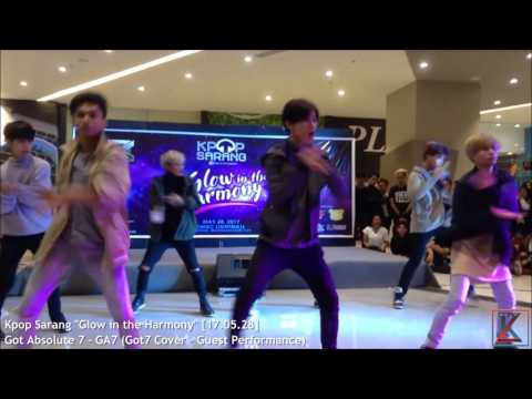 """Got Absolute 7 - GA7 (Got7 Cover - Guest Performance) on Kpop Sarang """"Glow in the Harmony"""""""