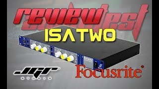 Focusrite PRO Preamp ISA Two Unboxing e Review Italiano Studio Basic