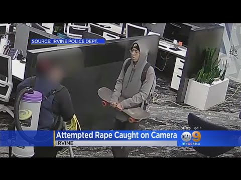 Attempted Rape Suspect Caught On Video In Attack At Irvine Office