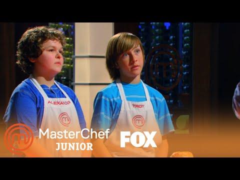 Troy & Alexander's Beef Wellington | Season 1 Ep. 3 | MASTERCHEF JUNIOR