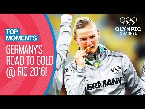 Germany's Road to Gold at Rio 2016 | Top Moments