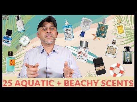 25 Aquatic + Beachy Fragrances, Colognes, Perfumes | Favorite Aquatic + Beachy Scents