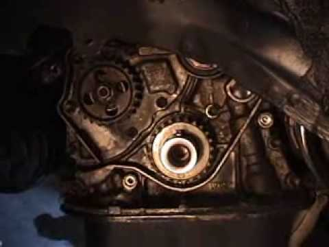 HOW TO TOYOTA ENGINE TIMING BELT  WATER PUMP INSTALLATION ON DVD
