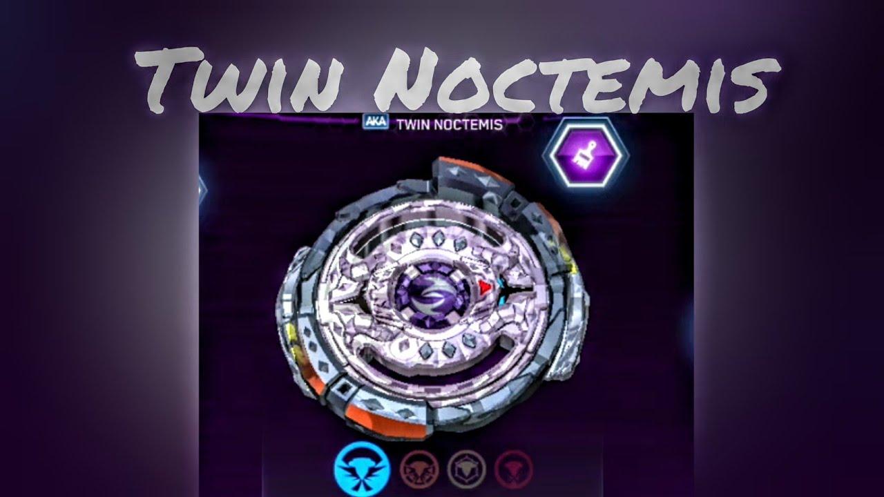 Twin Noctemis QR Code: Beyblade Burst Evolution Hasbro App