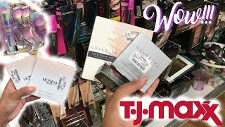 COVER FX, HONEST BEAUTY at TJ MAXX?! Makeup Gems for LESS!