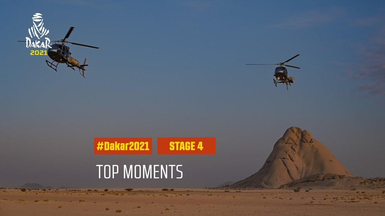 #DAKAR2021 - Stage 4 - Top Moments