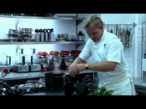 Lenny Henry Recipe Challenge - Gordon Ramsay