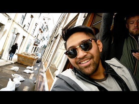 How to Ride the Trams   Lisbon Portugal   Vlog 16