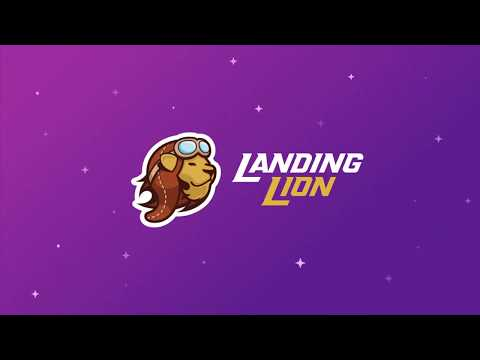 Welcome to Landing Lion | The web's best way to build the web.