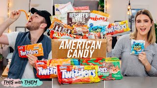 British People Trying American Candy - This With Them