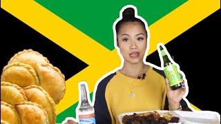 Video JAMAICAN FOOD MUKBANG ( first impression ) download MP3, 3GP, MP4, WEBM, AVI, FLV Juli 2018
