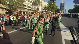 La Legión - Desfile 12 Octubre 217 - Día Hispanidad - Madrid