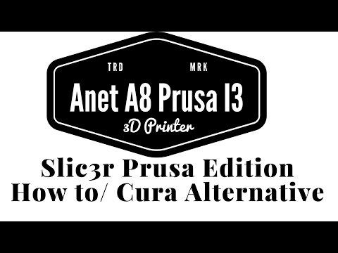 Anet A8 Prusa I3 - Slic3r Prusa Edition How to / USB Print
