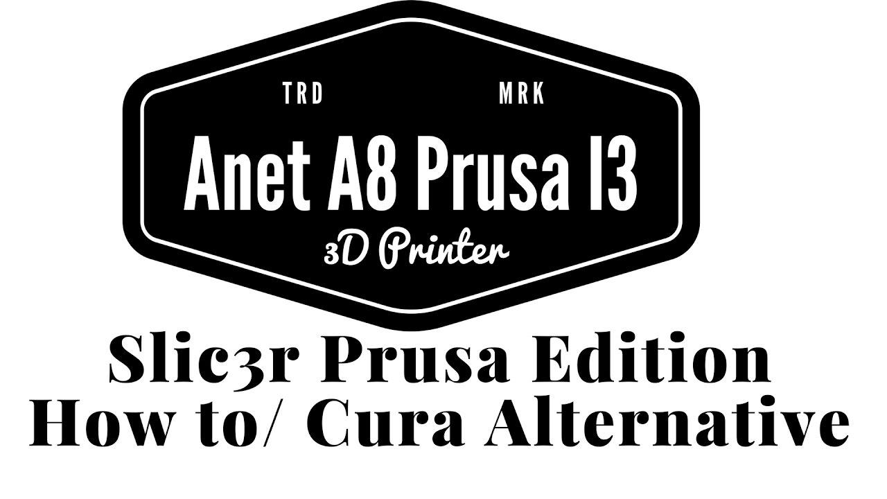 Anet A8 Prusa I3 - Slic3r Prusa Edition How to / USB Print (German)