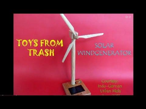 Solar Wind Generator   Telugu   Future of Energy