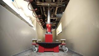 YAK 2800 - Wheeled Air-hydraulic pit jack