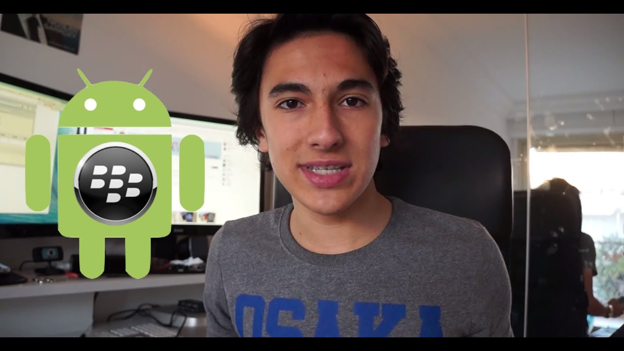 Installer des Applications Android sur BlackBerry !  #Smartphone #Android
