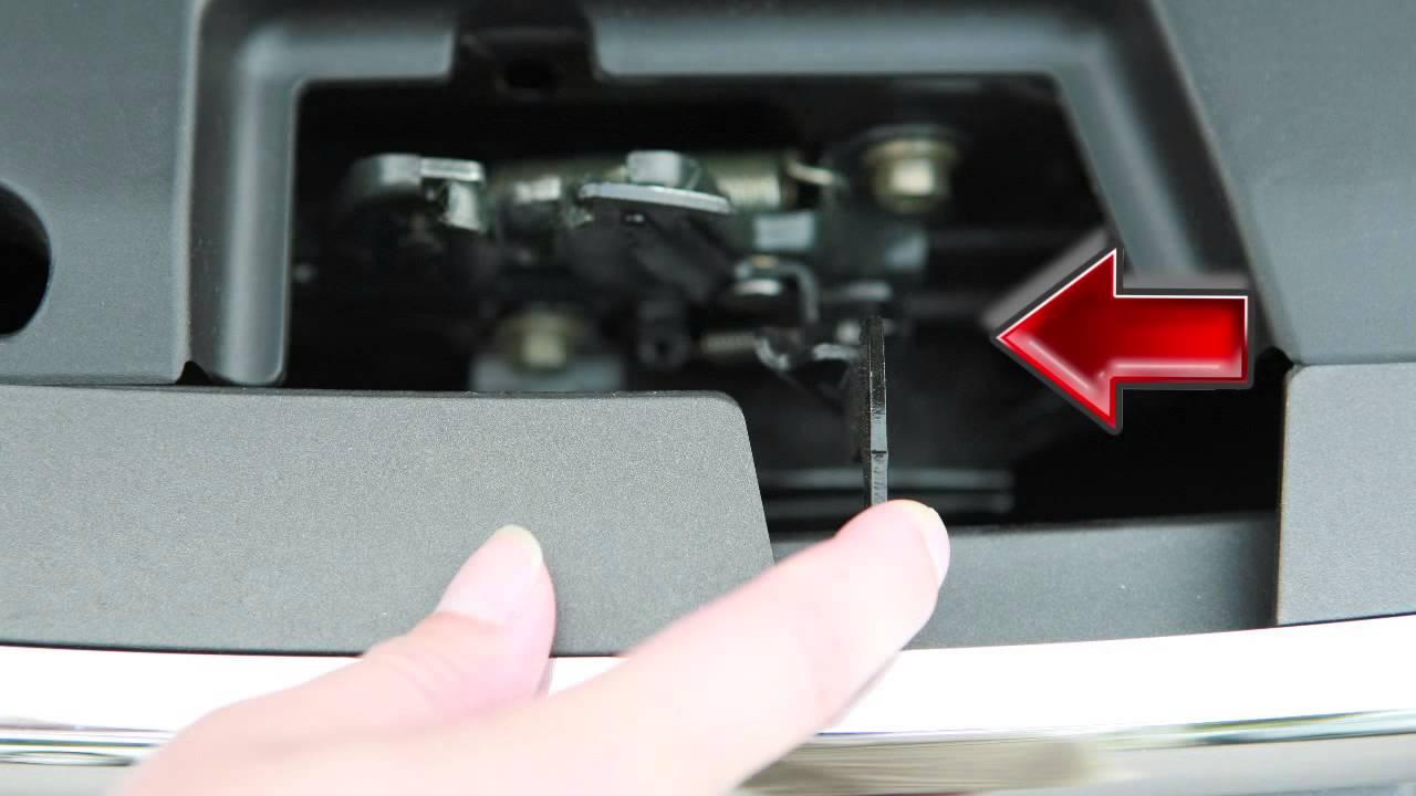 2012 Nissan Altima Hood Release Youtube