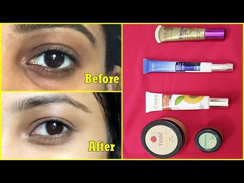 5 Best UNDER EYE CREAM for DARK CIRCLE | How to remove DARK CIRCLE
