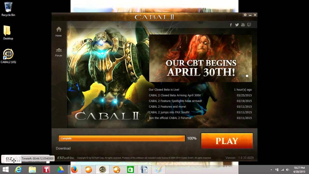 Скачать cabal 2 online русский сервер