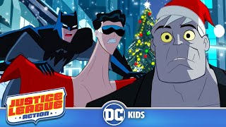 Justice League Action | The Bat Who Saved Christmas | DC Kids