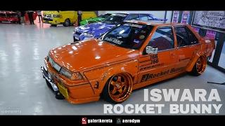 Saga Iswara Rocket Bunny by Mamat Oren - Negeri Sembilan International Autosalon 2017