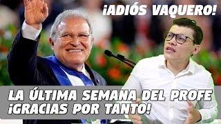 Homenaje a Sánchez Cerén ¡Adiós vaquero! - SOY JOSE YOUTUBER