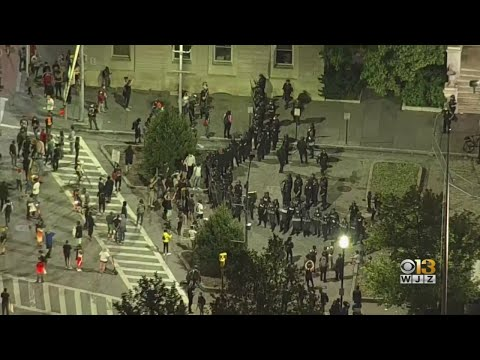 Leaders Say Baltimore's Peaceful George Floyd Protests Set National Example