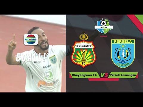 Goal Diego Assis - Bhayangkara FC vs Persela Lamongan | Go-Jek Liga 1 bersama Bukalapak