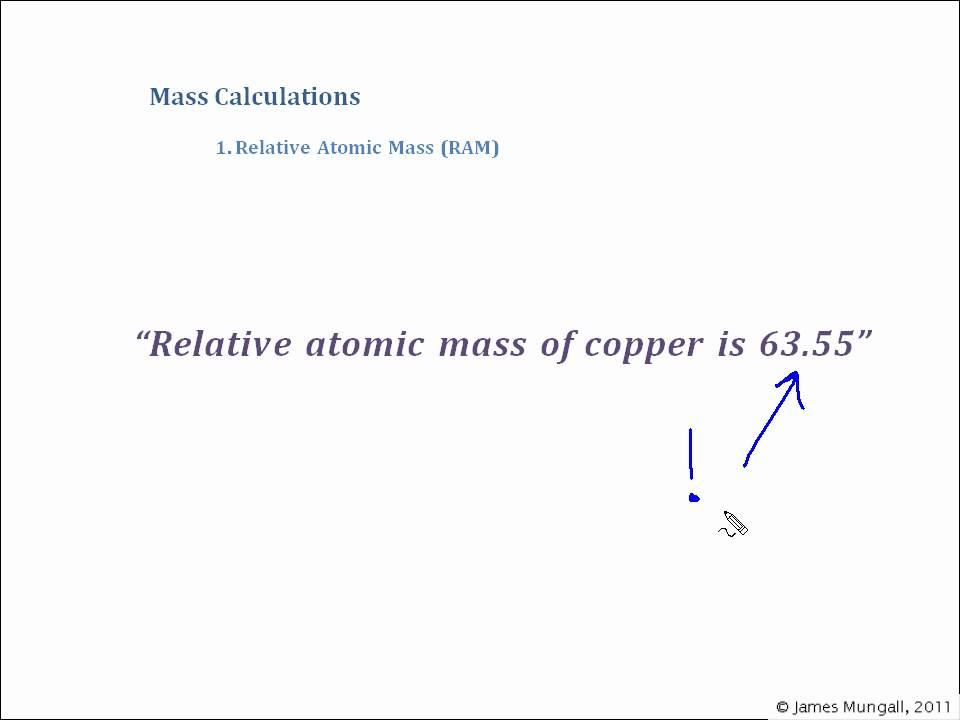 1 relative atomic mass ram youtube relative atomic mass ram youtube urtaz Gallery